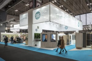 Salon Workspace expo stand Sbs