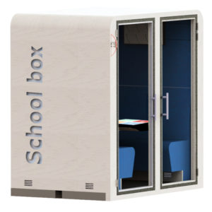 School box SBS cabine acoustique