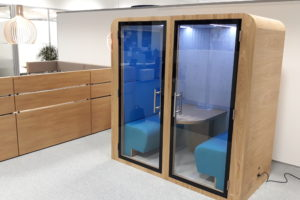 Duo Khara cabine acoustique HP Grenoble office pod