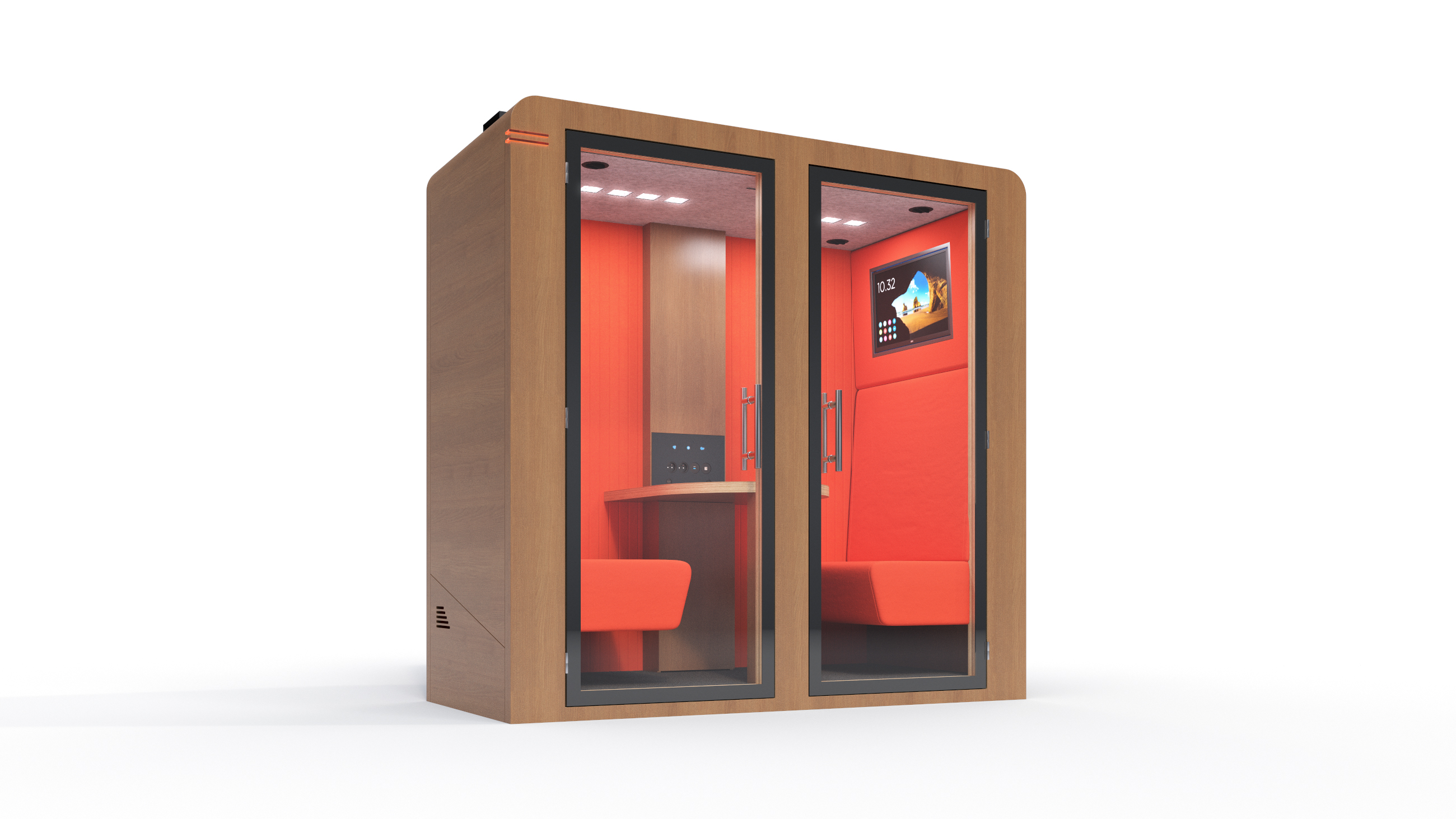 Duo Procyon SBS cabine acoustique